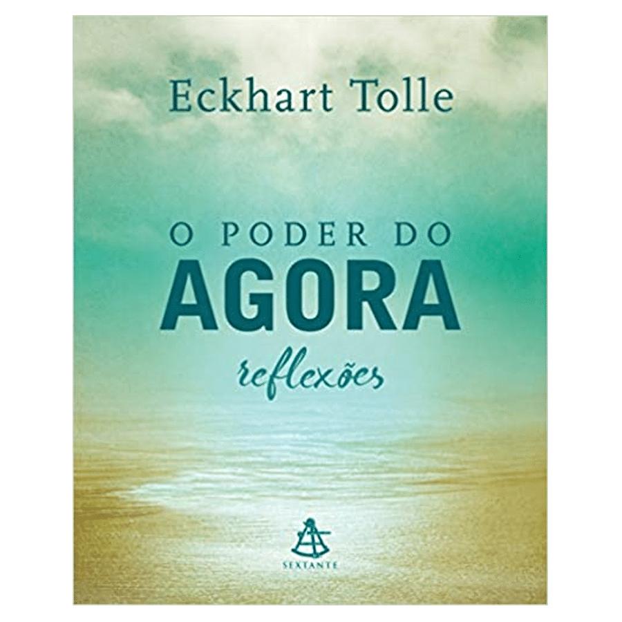 Livro O poder do agora – reflexões (Português) Capa dura
