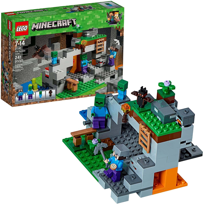 Minecraft A Caverna Do Zombie Lego – Ofertinha
