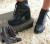 Bota Coturno Ramarim Salto Baixo Feminina – Preto