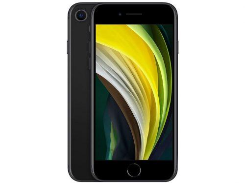 """iPhone SE Apple 64GB Preto 4G Tela 4,7"""" Retina - Câm. 12MP ..."""