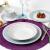 Aparelho de Jantar 30 Peças Casambiente Porcelana – Redondo Estampado Garden