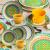Aparelho para Jantar e Chá Oxford Daily Floreal Bilro – 20 Peças