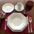 Aparelho De Jantar Chá Schmidt Porcelana Prisma 20 Peças