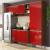 Cozinha Compacta Multimóveis Itália com Balcão – 9 Portas 3 Gavetas