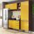 Cozinha Compacta Multimóveis Itália com Balcão – Nicho para Forno 9 Portas 3 Gavetas