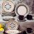 Aparelho de Jantar, Chá e Sobremesa 20 Peças Oxford Daily Luiza em Cerâmica