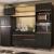 Cozinha Completa Madesa Reims 260001 com Armário e Balcão – Preto/Rustic