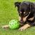Bola Crackle Ball Para Cães, Verde, Medio