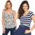 3 Blusas ou Camisas femininas (mais de 1000 modelos)
