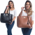 Kit Bolsa Sacola Feminina Grande + Necesser Lindas Dia Dia Willibags