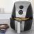 Fritadeira Elétrica Sem Óleo/Air Fryer Britânia – Air Fry BFR02PI Preta e Cinza 3,2L com Timer