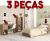 Conjunto de Dormitório 3 Peças – Politorno Guarujá