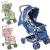 Carrinho de Bebê Funny Voyage – Azul