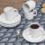 Jogo de Xícaras de Café Porcelana 4 Peças Schmidt – Basic