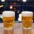 Conjunto de Caneca Vidro para Cerveja 510ml – 2 Peças Lyor Caveira Rock Style