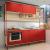 Conjunto Cozinha CBPO020-P2 – Kappesberg POP – Pine / Marsala