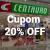 Cupom de 20% de Desconto na Centauro