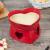 Aparelho de Fondue Cerâmica Scalla Vermelho – 2 Peças Funny Coração