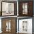 Guarda-roupa Casal com Espelho 4 Portas – 6 Gavetas Araplac Sofia