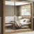 Guarda-roupa Casal 3 Portas Madesa – City 1056-3E com Espelho