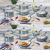 Jogo de Panelas Casambiente Cerâmica – Azul 7 Peças Genebra AL039