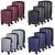 Conjunto De Malas em ABS 3 Peças (P, M, G) Com 4 Rodas 360° – Portinari