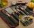 Conjunto de Utensílios Aço Inox 6 peças Inventare – La Cuisine Premium