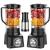 Liquidificador Mondial Turbo L-850 Full Black – 5 Velocidades com Filtro 850W