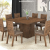 Mesa de Jantar com 8 Cadeiras Quadrada – Viero Móveis Game