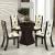 Mesa de Jantar 4 Cadeiras Quadrada Tampo de Vidro – Viero Móveis Viking