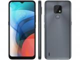 "Smartphone Motorola Moto E7 32GB Cinza Metálico – 4G Octa-Core 2GB RAM 6,5"" Câm. Dupla + Selfie 5MP"