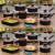 Jogo de Panelas Tramontina Antiaderente – Bronze e Preto 8 Peças Turquia 27899/105