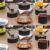 Jogo de Panelas Tramontina Antiaderente – Bronze e Preto 5 Peças Turquia 27899/104