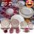 Aparelho de Jantar Chá 30 Peças Biona – Cerâmica Redondo Rosa Donna AE30-5160
