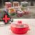 Kit de Potes Quadrado 10 Peças+Panela de Cozimento – a Vapor Electrolux para Micro-ondas 25cm