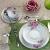 Aparelho de Jantar Chá 30 Peças Casambiente – Porcelana Redondo Celine