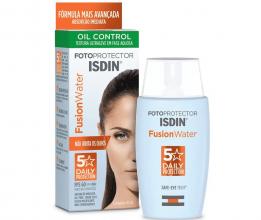 Protetor Solar Isdin Fusion Water 5 Stars Oil Control FPS 60 50ml