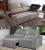 Sofá Retrátil Reclinável 3 Lugares Suede Elegance – 2 cores