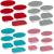 Conjunto de Assadeiras de Vidro com Tampa Marinex 6 Peças
