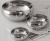 Conjunto de Tigelas Design Aço Inox 3 Peças – La Cuisine