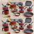 Jogo de Panelas Tramontina Antiaderente – de Alumínio Vermelho 10 Peças Turim 20298/722