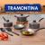 Conjunto de Panelas Tramontina Turim 20298/621 – Antiaderente 7 Peças