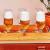 Conjunto de Taças de Vidro para Cerveja 6 Peças – 300ml Nadir Floripa 7732