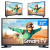 "Smart TV LED 32"" Samsung 32T4300A – Wi-Fi HDR 2 HDMI 1 USB"