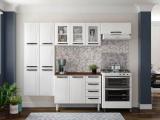 Cozinha Compacta Colormaq Barcelona 10 Portas – Aço