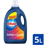 Lava Roupas Líquido Brilhante Limpeza Total – 5L
