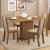 Sala de Jantar Talita Mesa com 4 Cadeiras – Rústico/Crema/Pérola